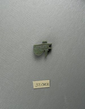 Brooklyn Museum: Eye Amulet