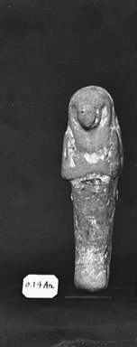 Egyptian. Small Ushabti of the Women Zed-Khonsu, ca. 1292-656 B.C.E. Nile mud, traces of paint, 4 5/16 x 1 1/4 x 1 1/4 in. (11 x 3.2 x 3.2 cm). Brooklyn Museum, Charles Edwin Wilbour Fund, 37.142E. Creative Commons-BY