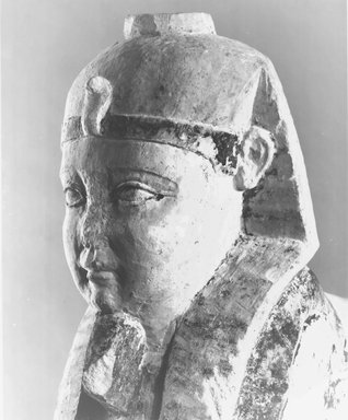 God Tutu as a Sphinx, 1st century C.E. or later. Limestone, painted, 14 1/4 x 5 1/16 x 16 11/16 in. (36.2 x 12.8 x 42.4 cm). Brooklyn Museum, Charles Edwin Wilbour Fund, 37.1509E. Creative Commons-BY
