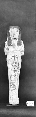 Egyptian. Ushabti of Ainmose, ca. 1292-656 B.C.E. Wood, painted, 7 5/16 x 1 13/16 x 1 1/8 in. (18.5 x 4.6 x 2.8 cm). Brooklyn Museum, Charles Edwin Wilbour Fund, 37.157E. Creative Commons-BY