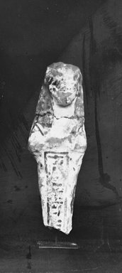 Egyptian. Ushabti, ca. 1292-656 B.C.E. Nile mud, paint, Measurements: Height .107 m, width .032 m. Brooklyn Museum, Charles Edwin Wilbour Fund, 37.159E. Creative Commons-BY