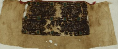 Coptic. Small Strip of Linen. Linen, wool, 5 x 16 in. (12.7 x 40.6 cm). Brooklyn Museum, Charles Edwin Wilbour Fund, 37.1772E. Creative Commons-BY