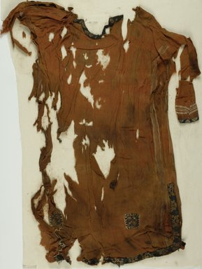 Coptic. Child's Tunic. Linen, wool , 27 x 37 in. (68.6 x 94 cm). Brooklyn Museum, Charles Edwin Wilbour Fund, 37.2000E. Creative Commons-BY