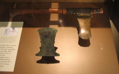 Brooklyn Museum: Battle Ax with Handle