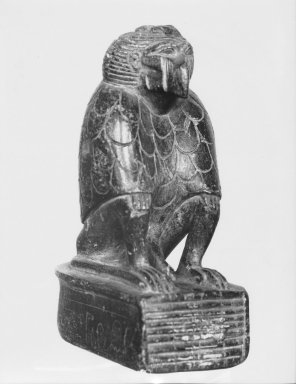 Figure of a Cynocephalus Ape. Steatite, 4 13/16 x 1 15/16 x 3 1/4 in. (12.3 x 5 x 8.2 cm). Brooklyn Museum, Charles Edwin Wilbour Fund, 37.324E. Creative Commons-BY