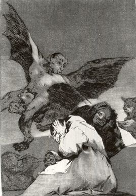 Francisco de Goya y Lucientes (Spanish, 1746-1828). Tale-Bearers--Blasts of Wind (Soplones), 1797-1798. Etching and aquatint on laid paper, Sheet: 11 7/8 x 8 in. (30.2 x 20.3 cm). Brooklyn Museum, A. Augustus Healy Fund, Frank L. Babbott Fund, and Carll H. de Silver Fund, 37.33.48