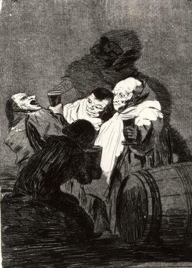 Francisco de Goya y Lucientes (Spanish, 1746-1828). No One Has Seen Us (Nadie nos ha visto), 1797-1798. Etching and aquatint on laid paper, Sheet: 11 7/8 x 8 in. (30.2 x 20.3 cm). Brooklyn Museum, A. Augustus Healy Fund, Frank L. Babbott Fund, and Carll H. de Silver Fund, 37.33.79