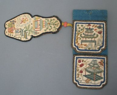 Pouch, 19th century., 13 x 3 9/16 in. (33 x 9 cm). Brooklyn Museum, Frank L. Babbott Fund, 37.371.329. Creative Commons-BY