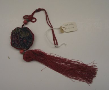 Tassel (Norigae), last half of 20th century. Silk, Overall: 16 3/4 in. (42.5 cm). Brooklyn Museum, Frank L. Babbott Fund, 37.371.83. Creative Commons-BY