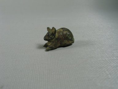 Small Statuette of a Mouse. Bronze, 5/8 x 1/2 x 1 in. (1.6 x 1.2 x 2.5 cm). Brooklyn Museum, Charles Edwin Wilbour Fund, 37.558E. Creative Commons-BY