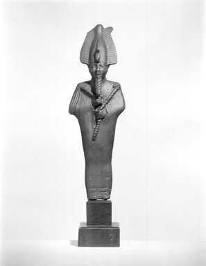 Small Statuette of Osiris. Bronze, 3 3/4 x 1 3/16 x 7/8 in. (9.5 x 3.1 x 2.3 cm). Brooklyn Museum, Charles Edwin Wilbour Fund, 37.563E. Creative Commons-BY