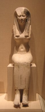 Brooklyn Museum: Sculptor's Model of a Seated Woman Made in Two Parts