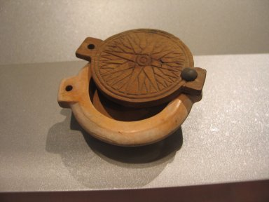 Brooklyn Museum: Circular Cosmetic Container with Lid