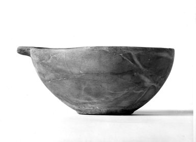 Spouted Bowl. Magnesite marble, 3 1/4 x 5 11/16 x 7 13/16 in. (8.2 x 14.4 x 19.8 cm). Brooklyn Museum, Charles Edwin Wilbour Fund, 37.71E. Creative Commons-BY