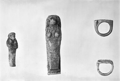 Brooklyn Museum: Finger Ring with Cartouche of Thutmose III