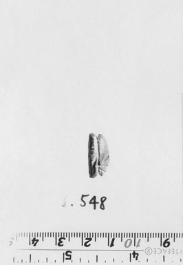 Egyptian. Scarab. Faience, glazed, 5/16 x 7/16 x 11/16 in. (0.8 x 1.1 x 1.7 cm). Brooklyn Museum, Gift of the Egypt Exploration Society, 38.548. Creative Commons-BY