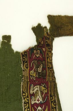 Green Tunic - Front with Decorated Bands