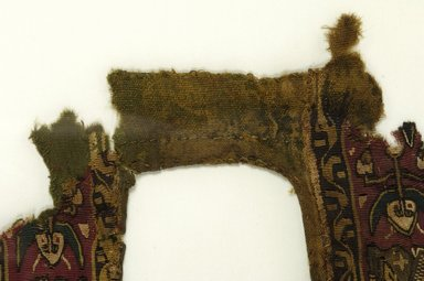 Coptic. Green Tunic - Front with Decorated Bands, 6th-8th century C.E. Wool, possibly silk, 31 1/2 x 10 5/8 in. (80 x 27 cm). Brooklyn Museum, Charles Edwin Wilbour Fund, 38.748. Creative Commons-BY