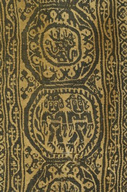 Coptic. Textile, 6th-7th century C.E. Wool, 18 3/4 x 8 1/4 in. (47.6 x 21 cm). Brooklyn Museum, Charles Edwin Wilbour Fund, 38.755. Creative Commons-BY