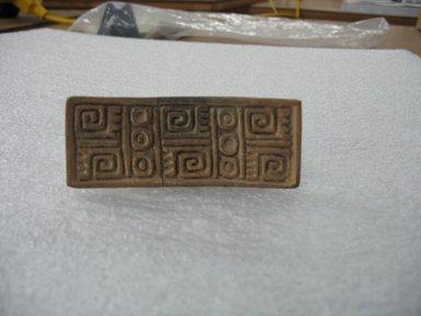 Aztec. Stamp, ca. 1500. Ceramic, 1 3/8 x 1 3/4 x 3 3/8 in. (3.5 x 4.4 x 8.6 cm). Brooklyn Museum, Ella C. Woodward Memorial Fund, 39.123.29. Creative Commons-BY