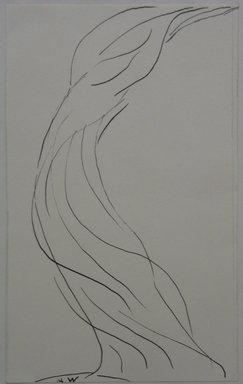 Abraham Walkowitz (American, born Russia, 1878-1965). Dancing Figure, n.d. Pen and ink on paper mounted to paper, Sheet (mount): 8 7/16 x 11 in. (21.4 x 27.9 cm). Brooklyn Museum, Gift of the artist, 39.469b