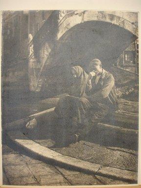 Dr. Drahomir Josef Ruzicka (American, born Czech Republic, 1870-1960). At the Lower Harbor. Photograph Brooklyn Museum, Gift of the artist, 40.560