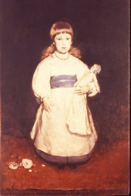 Frank Duveneck (American, 1848-1919). Mary Cabot Wheelwright, 1882. Oil on canvas, 50 3/16 x 33 1/16 in. (127.5 x 84 cm). Brooklyn Museum, Dick S. Ramsay Fund, 40.87