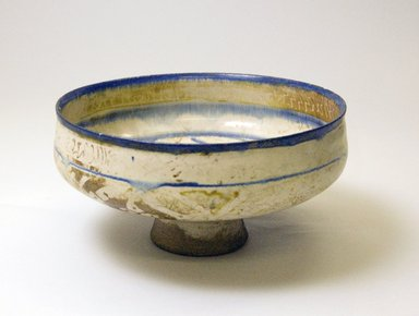 Bowl, 13th century. Pottery, 3 3/4 x 7 1/2 in. (9.6 x 19 cm). Brooklyn Museum, Gift of Mrs. Horace O. Havemeyer, 42.212.6. Creative Commons-BY