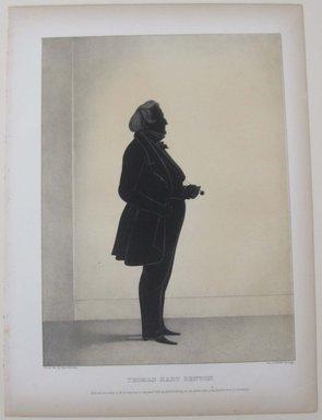 Edmond Burke Kellogg (American, 1809-1872). Portrait Gallery of Distinguished American Citizens: Thomas Hart Benton, 1844. Lithograph, Sheet: 16 3/4 x 12 3/8 in. (42.5 x 31.5 cm). Brooklyn Museum, Dick S. Ramsay Fund, 43.83.17