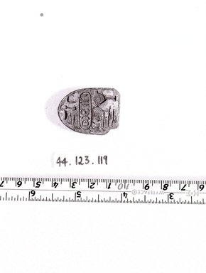 Brooklyn Museum: Stamp-seal