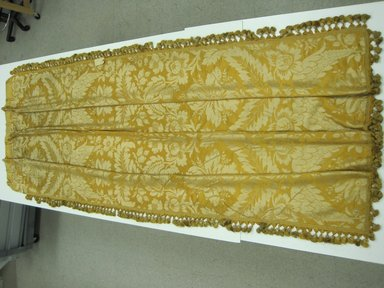 Drapery Panel, ca. 1910. Silk brocade, 118 x 52 in. (299.7 x 132.1 cm). Brooklyn Museum, Gift of Mrs. James H. Post, 44.135.1. Creative Commons-BY