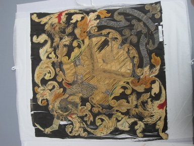 Brooklyn Museum: Hatchment of Arms of Stewart Family