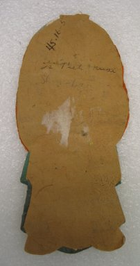 Flat Doll. Silk Brooklyn Museum, Gift of Mrs. Michael Tuch, 45.16.5. Creative Commons-BY
