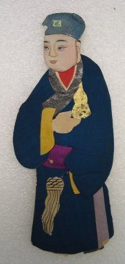 Flat Doll. Silk Brooklyn Museum, Gift of Mrs. Michael Tuch, 45.16.8. Creative Commons-BY
