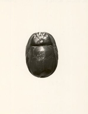Etruscan. Gem of Scarab Form, 5th century B.C.E. or later. Jasper (?), 3/8 in. (0.9 cm). Brooklyn Museum, Bequest of Mary T. Cockcroft, 46.156.4. Creative Commons-BY