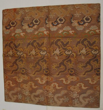 Textile Fragment, 19th-early 20th century., 26 3/16 x 26 3/16 in. (66.5 x 66.5 cm). Brooklyn Museum, Gift of Pratt Institute, 46.189.25. Creative Commons-BY