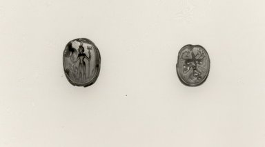 Carnelian Scarab. Carnelian, height: 1/4 in. (0.7 cm). Brooklyn Museum, Bequest of Anna T. Kellner, 47.2.2. Creative Commons-BY