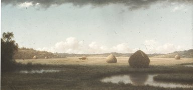Martin Johnson Heade (American, 1819-1904). Summer Showers, ca. 1865-1870. Oil on canvas, 13 1/8 x 26 1/4 in. (33.4 x 66.6 cm). Brooklyn Museum, Dick S. Ramsay Fund, 47.8