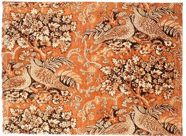 Cretonne, 18th century. Cotton, 17 1/2 x 23 1/2 in. (44.5 x 59.7 cm). Brooklyn Museum, Bequest of Mrs. William Sterling Peters, 50.141.162. Creative Commons-BY