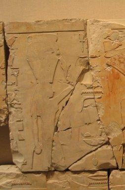 Nes-Peka-Shuti Relief: Block, ca. 664-610 B.C.E. Limestone, 16 3/8 x 11 5/8 in. (41.6 x 29.5 cm). Brooklyn Museum, Charles Edwin Wilbour Fund, 52.131.11. Creative Commons-BY