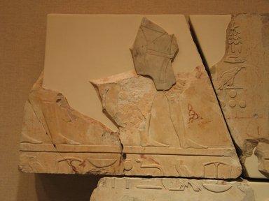 Nes-Peka-Shuti Relief: Fragmentary Block, ca. 664-610 B.C.E. Limestone, 11 5/8 x 15 3/4 in. (29.5 x 40 cm). Brooklyn Museum, Charles Edwin Wilbour Fund, 52.131.19. Creative Commons-BY
