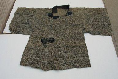 Jacket, Mid 20th century. Bast fiber, wool, 35 7/16 x 46 7/16 in. (90 x 118 cm). Brooklyn Museum, Gift of Carolyn Schnurer, 52.62.A.63. Creative Commons-BY