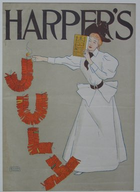 Brooklyn Museum: Harper's Poster, July 1894