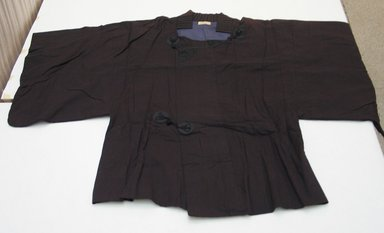 Coat, 1952. Cotton and silk, 34 7/16 x 50 13/16 in. (87.5 x 129 cm). Brooklyn Museum, Gift of Carolyn Schnurer, 55.195.9. Creative Commons-BY
