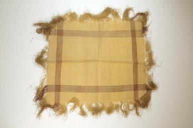 Raffia Cloth. Raffia, 16 x 13 in. (40.8 x 33.2 cm). Brooklyn Museum, Gift of Mrs. M.D.C. Crawford, 55.227.11. Creative Commons-BY
