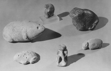 Statuette of a Toad. Limestone Brooklyn Museum, Charles Edwin Wilbour Fund, 57.165.4. Creative Commons-BY