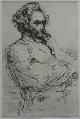 James Abbott McNeill Whistler (American, 1834-1903). Drouet, 1859. Drypoint, Sheet: 12 1/16 x 8 5/16 in. (30.6 x 21.1 cm). Brooklyn Museum, Gift of Mrs. Charles Pratt, 57.188.64