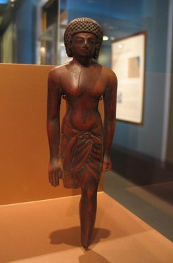 Egyptian. Statuette of a Soldier, ca. 1390-1353 B.C.E. Wood, traces of black paint, Height: 8 3/8 in. (21.2 cm). Brooklyn Museum, Charles Edwin Wilbour Fund, 57.64. Creative Commons-BY