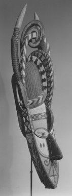 Nalu. Banda Mask, late 19th or early 20th century. Wood, metal, pigment, 61 1/2 x 15 3/4 x 15 3/8 in. (156.0 x 40.0 x 39.0 cm). Brooklyn Museum, Caroline A.L. Pratt Fund, 58.7. Creative Commons-BY
