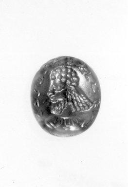 Sasanian. Gem, 3rd - 4th century C.E. Carnelian, Base: 1/2 x 9/16 in. (1.2 x 1.5 cm). Brooklyn Museum, Gift of E. Manus, 60.179. Creative Commons-BY